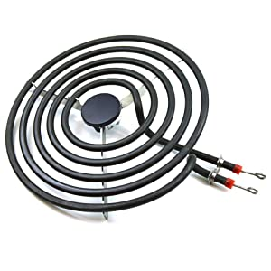 "ANTOBLE MP26YA 316442301 Burner Element Surface 8"" 5 Turns Replacement for Whirlpool Roper Estate Range Cooktop"