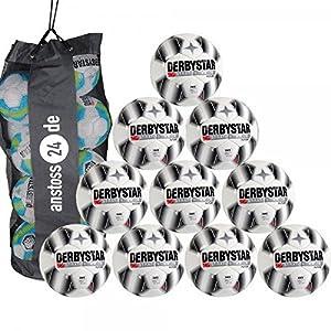10 x DERBYSTAR Trainingsball - STRATOS TT inkl. Ballsack