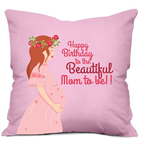 Buy Gifties Happy Birthday To The Beautiful Mom To Be Printed