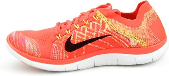 Nike Free Flyknit 4.0 - Zapatillas de running para hombre, Naranja, 9