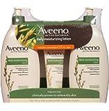 Aveeno Daily Moisturizing Lotion (18 fl. oz., 2 pk. with 2.5 oz. Tube)
