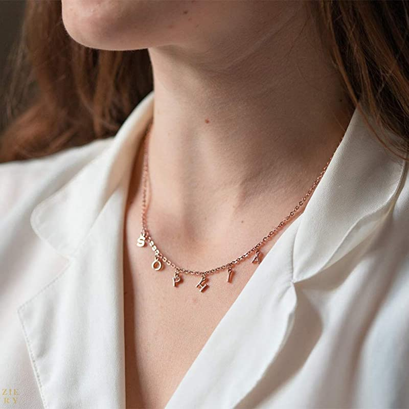 Michelle Obama /'Vote/' necklace Custom Vertical Necklace      Mother/'s Day Gift   Personalized Jewelry