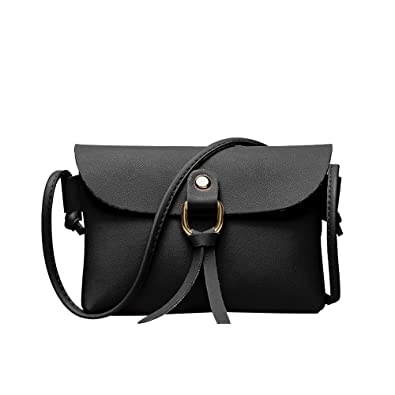 Tote Bag Women s Solid color Tassel Shoulder Bag Stylish Simple Crossbody Bags  Splice Soft Leather nclined 3db8e590e58b5
