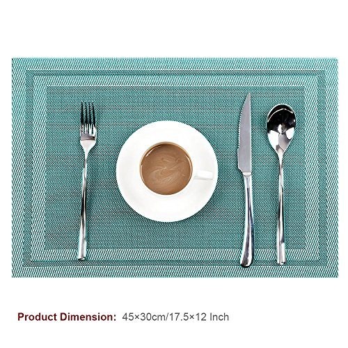 Placemats Easome Washable Stain resistant Insulation product image