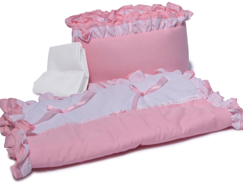 New Baby Doll Bedding Regal Cradle Ruffle Bedding Set Pink BabyDoll Bedding