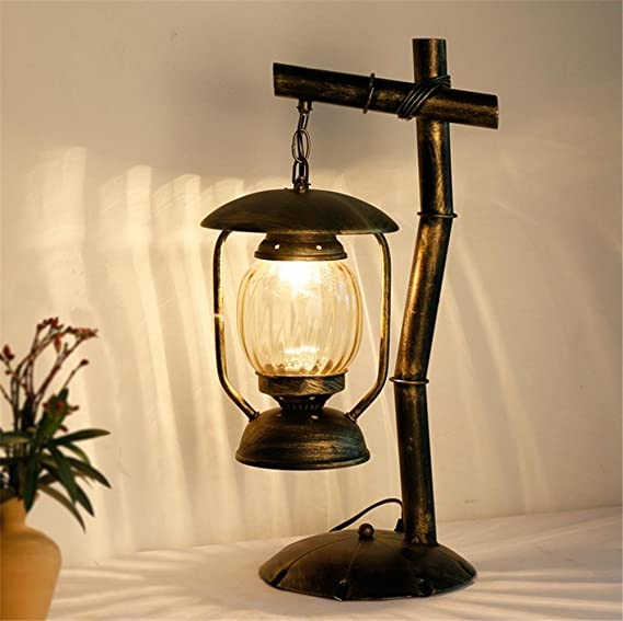 Lámparas de Escritorio Estilo Industrial Hierro de la Vendimia ...