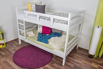 Etagenbett Für Erwachsene 120x200 : Etagenbett stockbett k n kopf und fußteil gerade buche