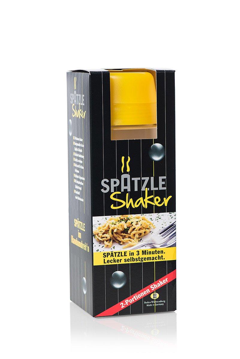 2-Portionen-Spätzle-Shaker in gelb: Amazon.de: Küche & Haushalt