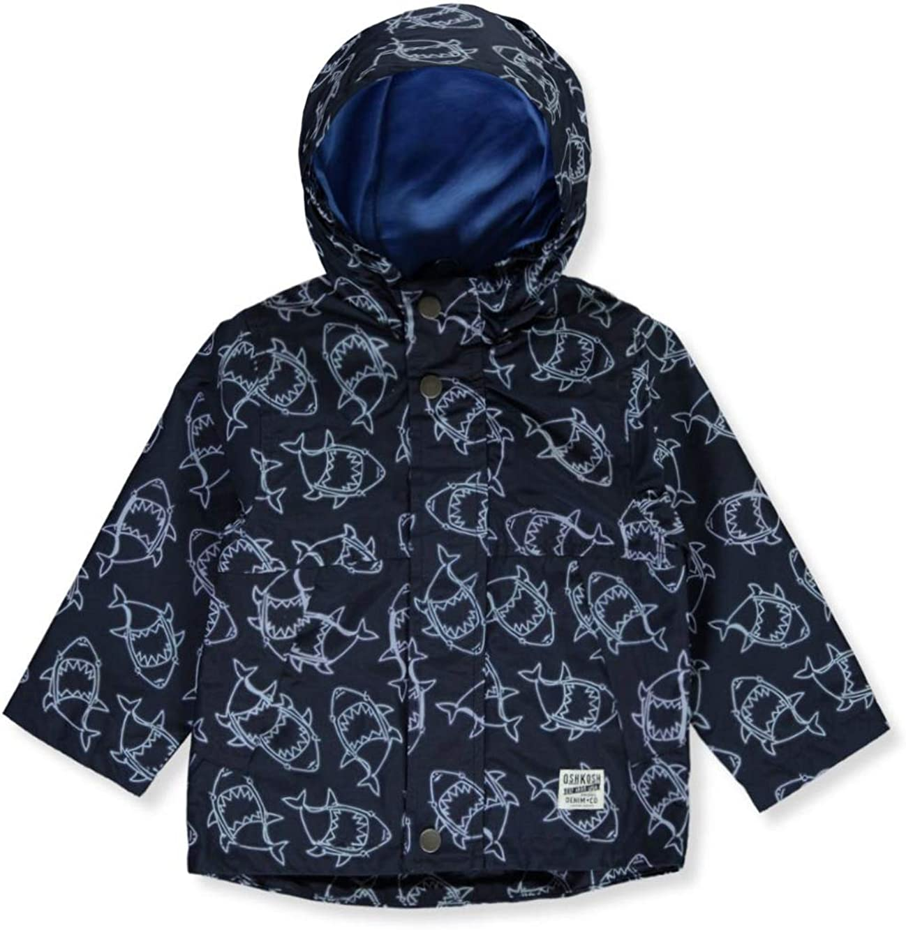 OshKosh Baby Boys Shark Windbreaker Jacket