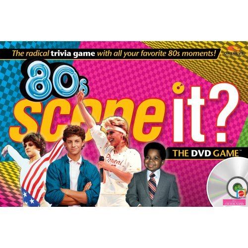 80's Scene It Game With DVD Radical Trivia Questions by Scene It