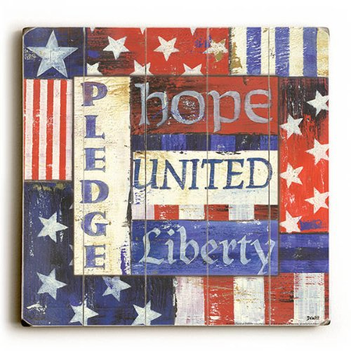 USA Pride by Artist Debbie Dewitt - Americana wall decor