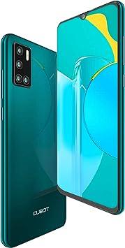 CUBOT P40 Smartphone Dual SIM 6.2 Pulgadas HD + Water Drop Android 10 4GB 128GB Batería de 4200 mAh cámara cuádruple Soporte NFC Face ID CUBOT Oficial,Verde: Amazon.es: Electrónica