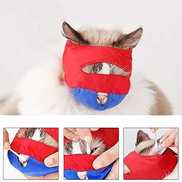 Legendog Gato Bozal Anti Mordaz Mascota Bozal Gato Suministros para Gato Aseo: Amazon.es: Productos para mascotas