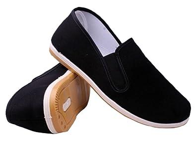 491459c2fffaa DADAWEN Chaussons pour Le Kungfu Tai-Chi Yoga en Noir  Amazon.fr  Chaussures  et Sacs