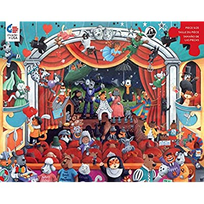Paws & Claws Theater Puzzle - 300Piece: Toys & Games