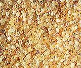 "100% Custom Made (5mm) 1000 Bulk Pieces of Mini Size ""Glue-On"" Flatback Embellishments for Decorating, Made of Acrylic Resin w/ Shiny Iridescent Crafting Rhinestone Crystal Peach Gem Style {Orange}"
