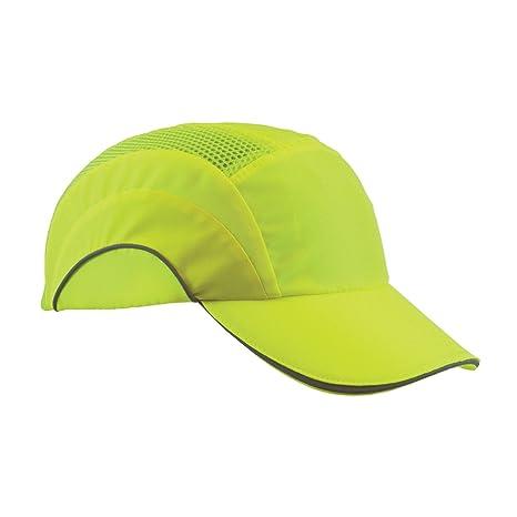 64d49b9eece154 HardCap A1+ 282-ABR170-LY Hi-Vis Baseball Style Bump Cap with HDPE ...