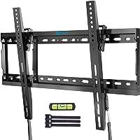 Tilt TV Wall Mount Bracket Low Profile for Most 37-70 Inch LED LCD OLED Plasma Flat Curved Screen TVs, Large Tilting…