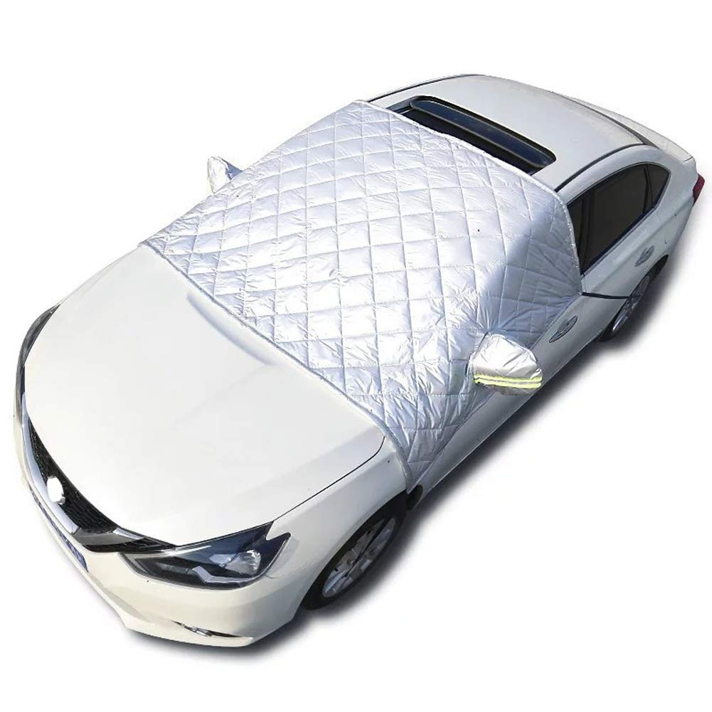 Car Windscreen Cover Winter Frost-Proof Snow Sun Protection Sunshade Protector