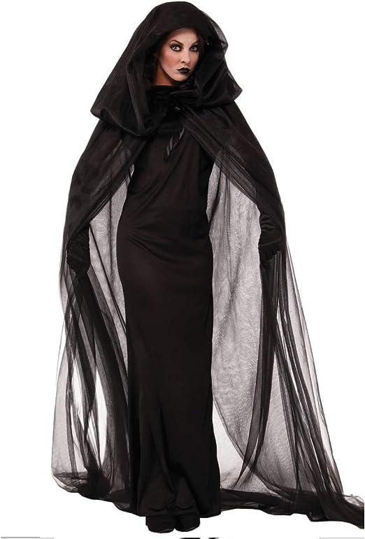 GAOJUAN Disfraz De Halloween Adulto Disfraz De Vampiro Fantasma,XL ...