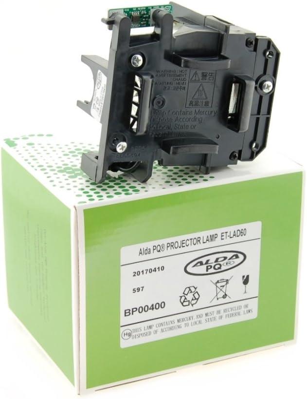 Alda PQ-Premium PT-D6000ULS PT-D6000ELK PT-DW6300 Proiettori PT-D5000ES lampada con modulo PT-D6000 PT-DW530 Lampada proiettore compatibile con ET-LAD60 per PANASONIC PT-D5000