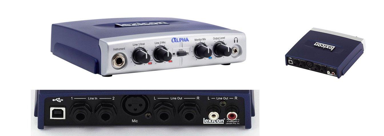 Lexicon ALPHA Studio interfaz/tarjeta audio/USB: Amazon.es ...