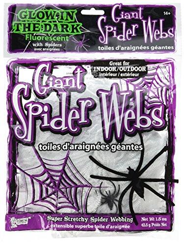 Glow In The Dark Spider Web - 2
