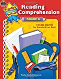 Reading Comprehension, Grade 6, Teacher Created Resources Staff, 0743933672