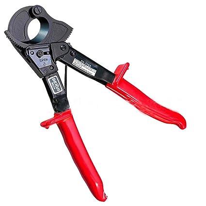 Cortador de alambre de trinquete para servicio pesado Corte de alambre hasta 240 mm de alambre