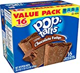 Pop-Tarts Breakfast Toaster Pastries, Frosted Chocolate Fudge Flavored, Value Pack, 29.3 oz, 16 count(Pack of 8)