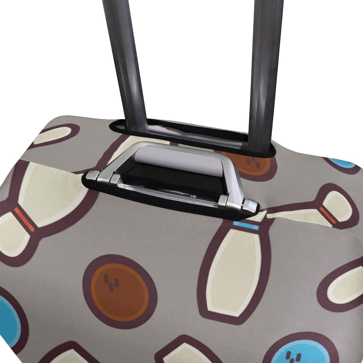 GIOVANIOR Sport Bowling Balls Luggage Cover Suitcase Protector Carry On Covers
