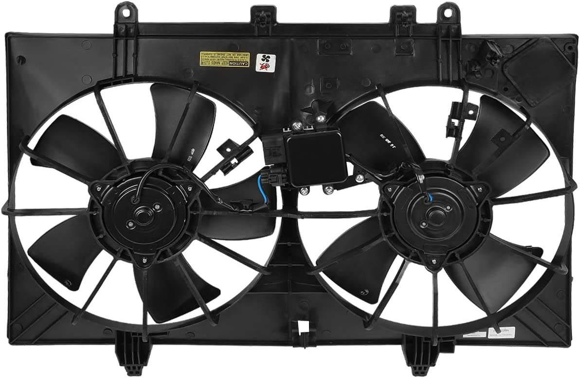 DNA Motoring OEM-RF-0247 IN3115105 Factory Style Radiator Cooling Fan Assembly