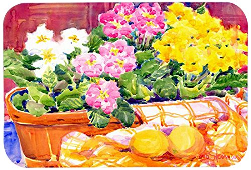Caroline's Treasures 6061JCMT'Flower-Primroses' Kitchen or Bath Mat, 24' by 36', Multicolor
