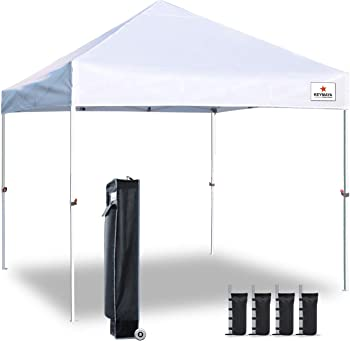 Keymaya 10x10 Ez Pop Up Canopy Tent Commercial Instant Shelter