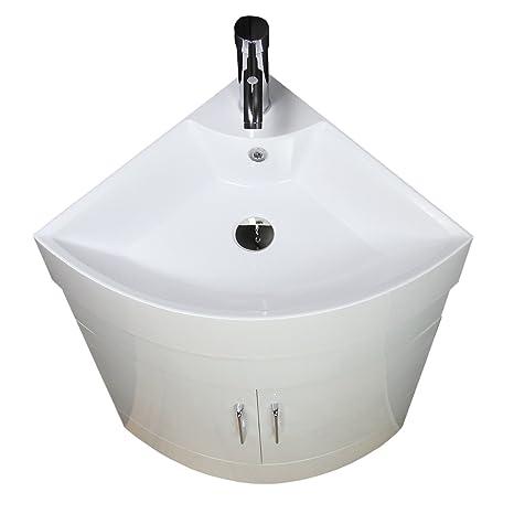 Mueble Lavabo Esquinero.Lavabo Mueble De Bano Armario De Esquina Pie Lavado
