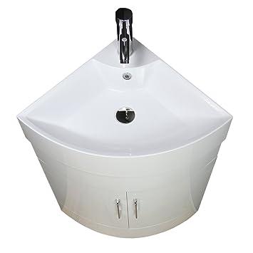 Badezimmer Unterschrank Schrank Waschbecken Ecke Garderobe Boden Stehend  Waschtisch