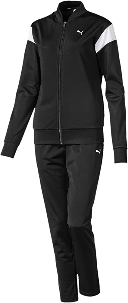 PUMA Damen Classic Tricot Suit, Op Trainingsanzug: