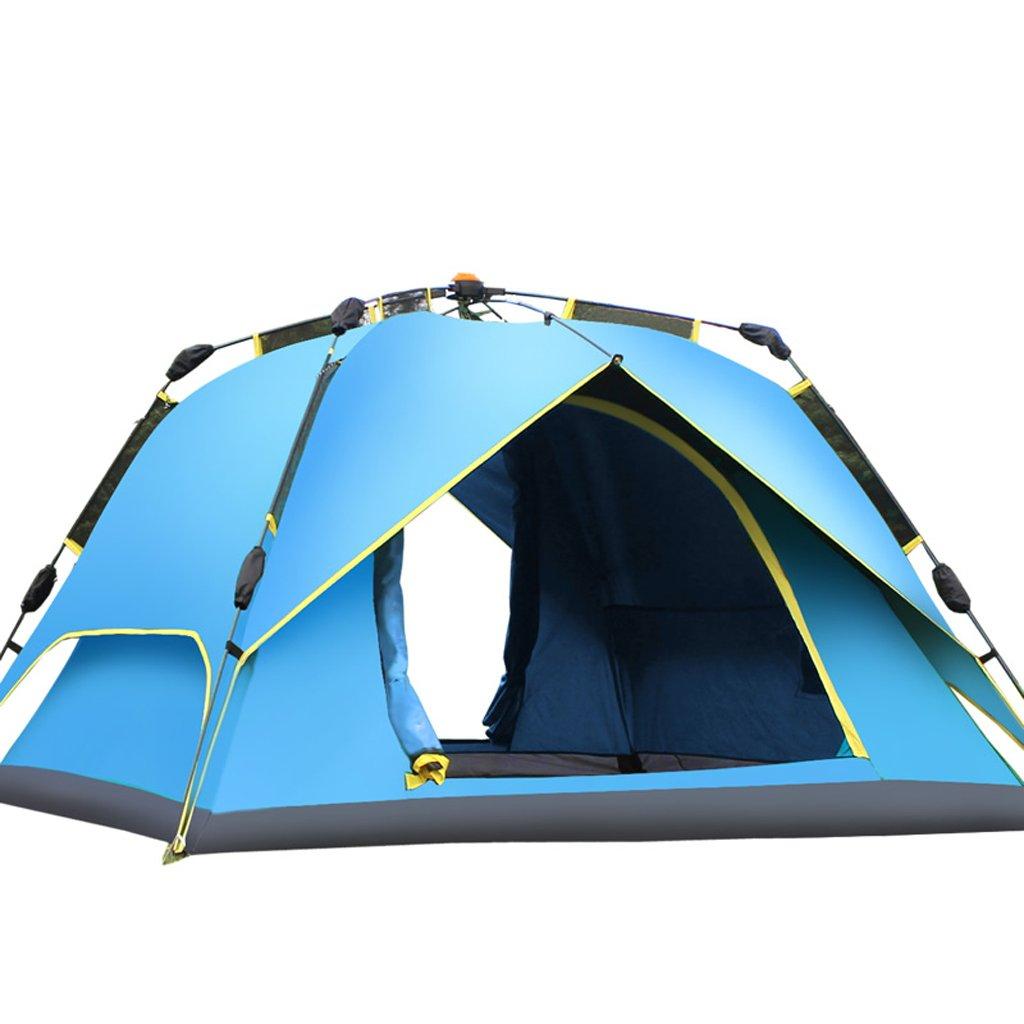Zelt LINGZHIGAN Großer automatischer Großer Raum kampierender Außenanzug im Freien