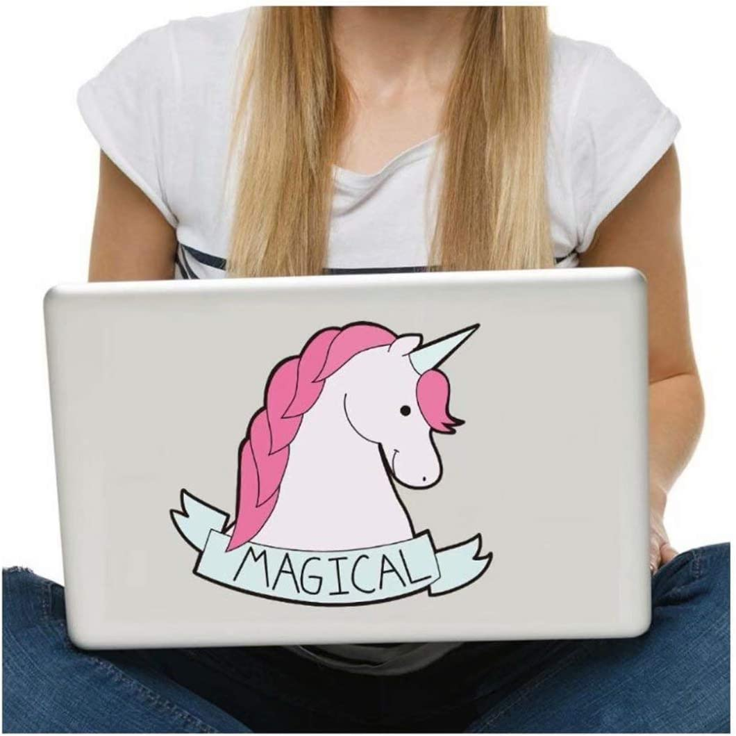 Cute Decal Stickers to Add to Bottles Car Laptop Cars Computer CARDEON Unicorn Vinyl Sticker for Water Bottle
