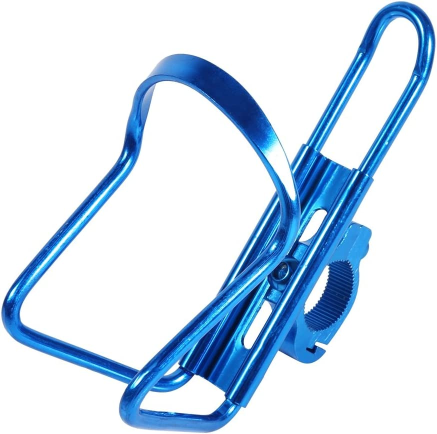 thickness 2,5mm Bicycle Water Bottle Holder Blue Plastic 60mm x 75mm 14,3cm