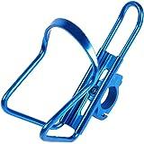 VGEBY Portaborraccia Per Bici Moto,Acqua Bottiglia Gabbia Alluminio Bicicletta Portabottiglie D'acqua Gabbie Per Bicicletta Universale Per Gli Sport Esterni Attività- 4 Colori ( Colore : Blu )