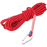 Ma-on Sports de plein air alpinisme utilitaire Corde d'escalade Rouge 15KN (12mm)