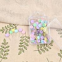 TOOGOO 100 unids / bolsa pines colores mezclados