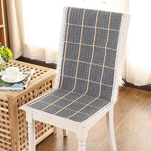 Almohadillas para silla de comedor Cojín para silla larga ...