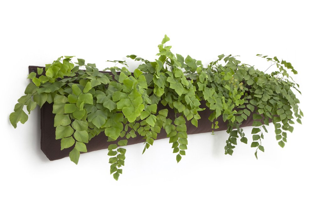 Living Wall Planter INDOOR/OUTDOOR USE W/Reservoir (Color: Chocolate)  Vertical