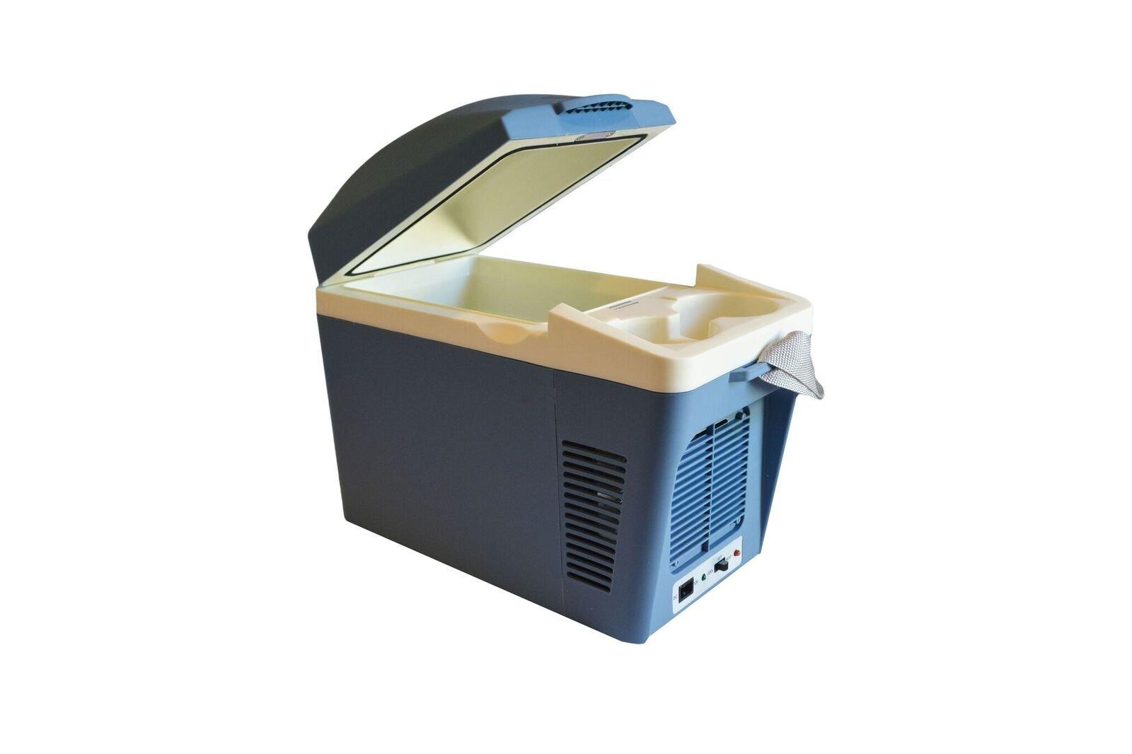 EZ Travel 12-Volt Car Plug in Cooler and 12V Warmer with Cup Holders (7-Liter Design)