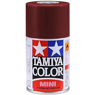 Tamiya Spray Lacquer TS-11 Maroon - 100ml Spray Can 85011: Toys & Games
