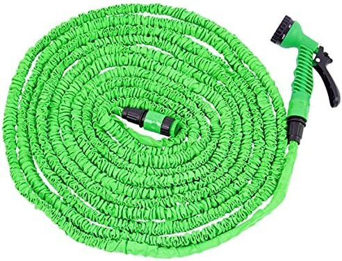Manguera flexible manguera de jardín 30 metros / 100 pies Pantalones extensibles: Amazon.es: Jardín