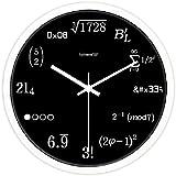 壁掛け時計 デザイン時計 ウォールクロック 数字 数学