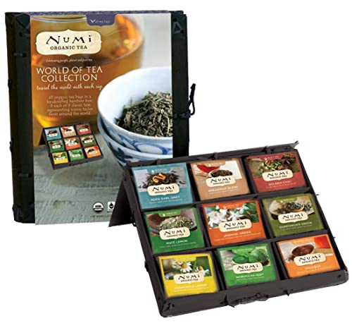 Numi Organic Tea World of Tea Variety Gift Set